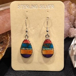 Jewelry - 🚫SOLD🚫⛔️ Hold for Sandy. Micro inlay earrings